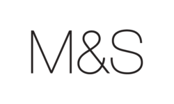 M & S Logo - Queensbury Products Ltd of Bridgwater, UK have made plastic food packaging for Supermarkets such as Sainsbury's & Marks & Spencers.