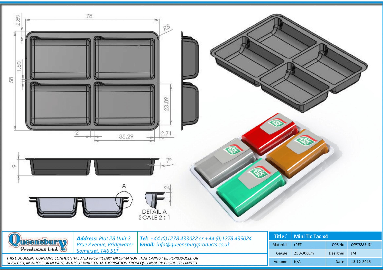 Queensbury Design Document Tic Tac Shape